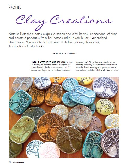 Natalie Fletcher Jones - Creative Beading Article